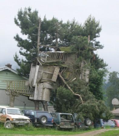 Dr Seuss' tree house