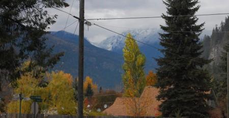 שלג על ההר