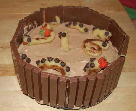עוגת מפלצות ים