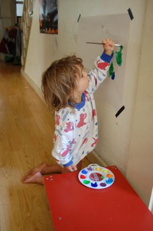 מצייר על הקירות ברישיון