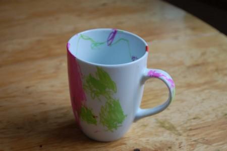 הכוס של טל. זאת שאני הכי אוהבת לשתות בה תה!